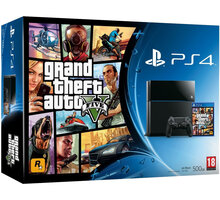 PlayStation 4 - 500GB + GTA V