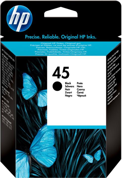 HP 51645GE černá, no.45