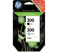 HP CN637EE Combo pack (CC640EE + CC642EE) černá, barevná – ušetřete až 20 % oproti standardní náplni