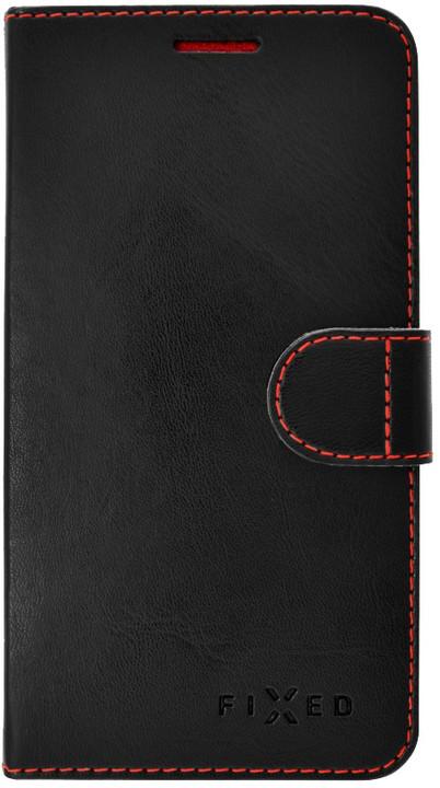 FIXED FIT pouzdro typu kniha pro Acer Liquid Z330/M330, černé