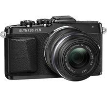 Olympus E-PL7 + 14-42 mm EZ, černá - V205073BE001 + Baterie Jupio BLS-5 pro Olympus E-PL7 v ceně 790 Kč