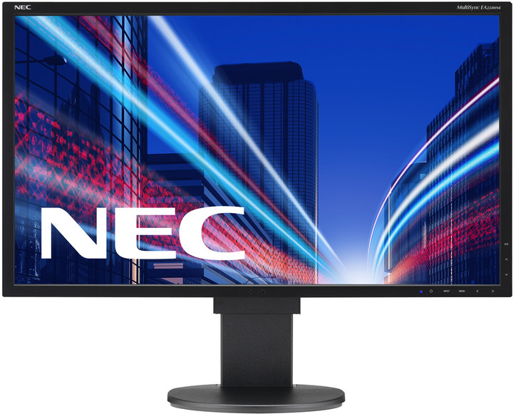 "NEC MultiSync EA224WMi, černá - LED monitor 22"""