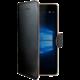 CELLY Wally pouzdro pro Microsoft Lumia 950, PU kůže, černá