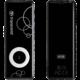 Transcend MP300, 8GB, černý