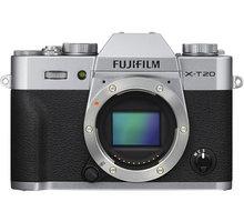 Fujifilm X-T20, tělo, stříbrná - 16542426