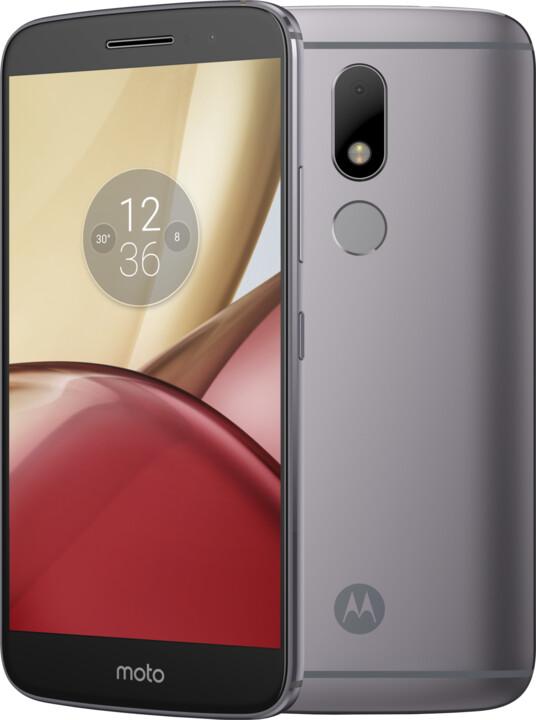 Lenovo Moto M - 32GB, LTE, DualSim, šedá