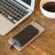 Scosche MagicMount záložní baterie s magn.přichycením s USB-C konektorem, 4000mAh, černá