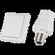 TRUST sada s bezdrátovým nástěnným vypínačem a montážním spínačem AWST-8800 & AFR-060