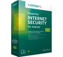 Kaspersky Internet Security pro Android CZ, 1 mobil/tablet, 2 roky, nová licence - KL1091OCADS