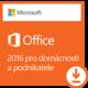 Microsoft Office 2016 pro podnikatele, All Lng - pouze k PC