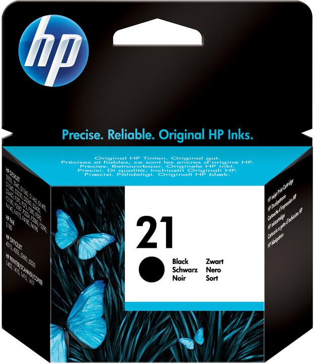 HP C9351AE, no. 21, černá
