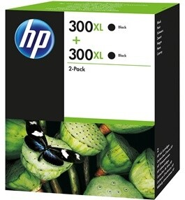 HP D8J43AE černá, no.300XL twinpack