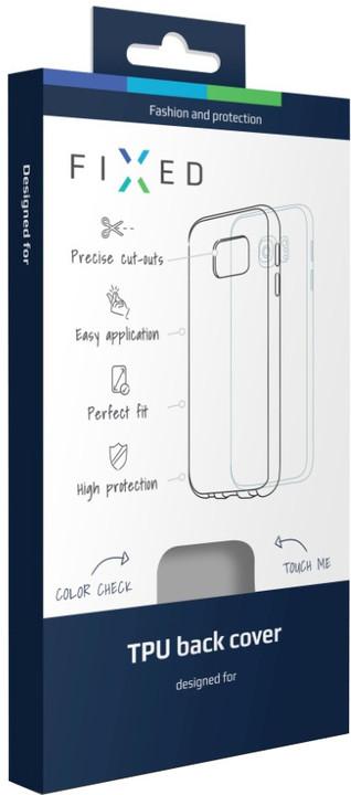 FIXED TPU gelové pouzdro pro Lenovo K6, bezbarvé