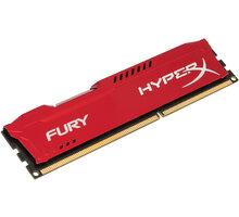 Kingston HyperX Fury Red 4GB DDR3 1866 CL 10 - HX318C10FR/4