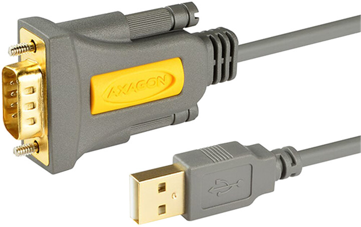 AXAGON USB2.0 - sériový RS-232 FTDI adapter 1,5m