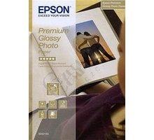 Epson Foto papír Premium Glossy, 10x15 cm, 40 listů, 255g/m2, lesklý - C13S042153