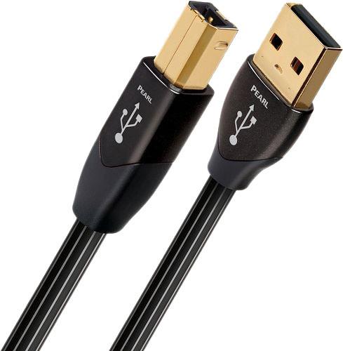 AQ Pearl USB A-B, 0.75m