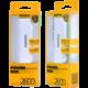 REMAX powerbank, 2600 mAh, bílá/tyrkysová