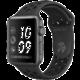 Apple Watch series 3 38mm NIKE+ pouzdro vesmírně šedá/černý řemínek