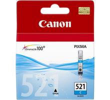 Canon CLI-521 C, azurová - 2934B001