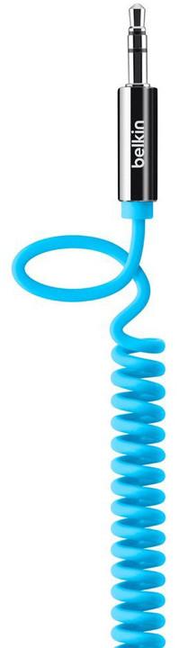 Belkin 3.5mm Jack M/M kroucený MIXIT, 1.8m modrý