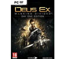 Deus Ex: Mankind Divided - Day One Edition (PC) - PC