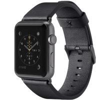 Belkin kožený řemínek pro Apple watch (38mm), černý - F8W731btC00