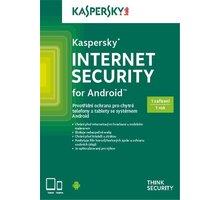 Kaspersky Internet Security pro Android CZ, 1 mobil/tablet, 1 rok, nová licence, krabicová - KL1091OBAFS-CZ