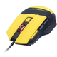 CONNECT IT Biohazard V2 myš, žlutá
