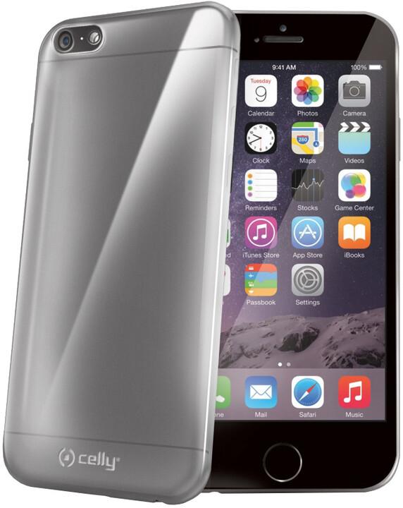 CELLY pouzdro Gelskin pro Apple iPhone 6/6S Plus, TPU, bezbarvé