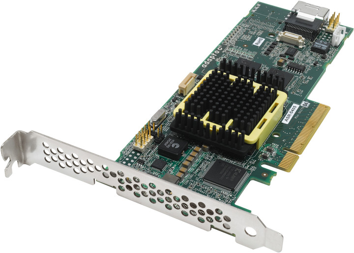 ADAPTEC RAID 5405 Kit SAS/SATA 2, PCI Express x8, 4 porty