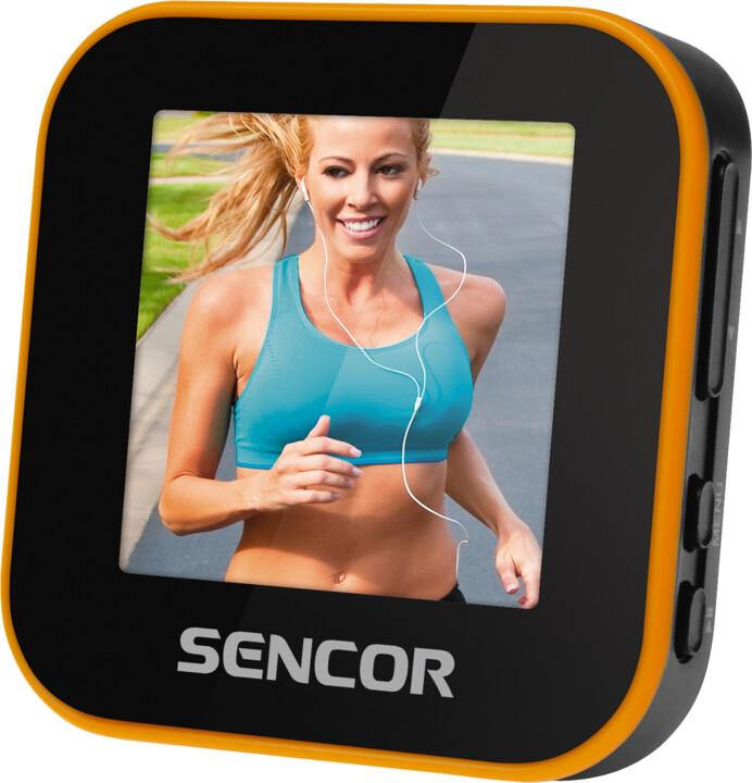 Sencor SFP 6070 SPORT CLIP, 8GB