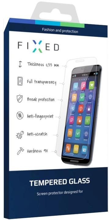 FIXED ochranné tvrzené sklo pro Samsung Galaxy J3 (2016), 0.33 mm
