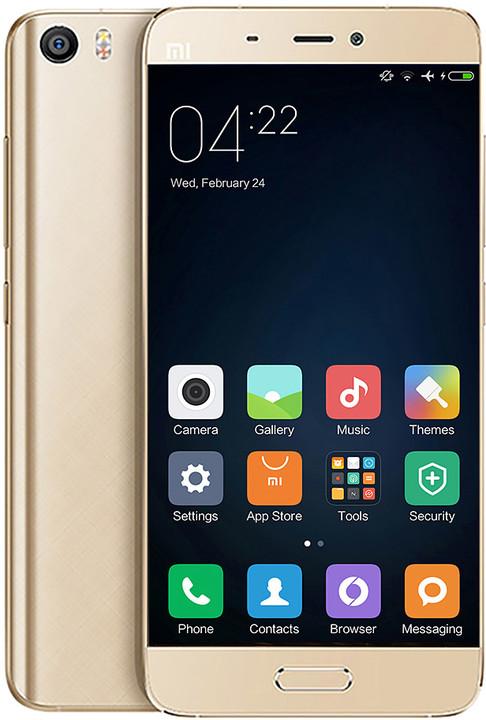 Xiaomi Mi5 - 64GB, LTE, zlatá