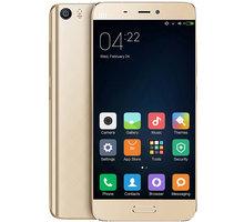 Xiaomi Mi5 - 64GB, LTE, zlatá - 472430 + Zdarma inCharge USB-C, červený (v ceně 349,-)