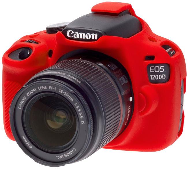 Easy Cover silikonový obal Reflex Silic pro Canon 1200D, červená