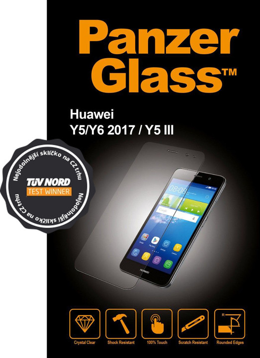 Panzerglass ochranné tvrzené sklo Huawei Y6 (2017) - Čiré