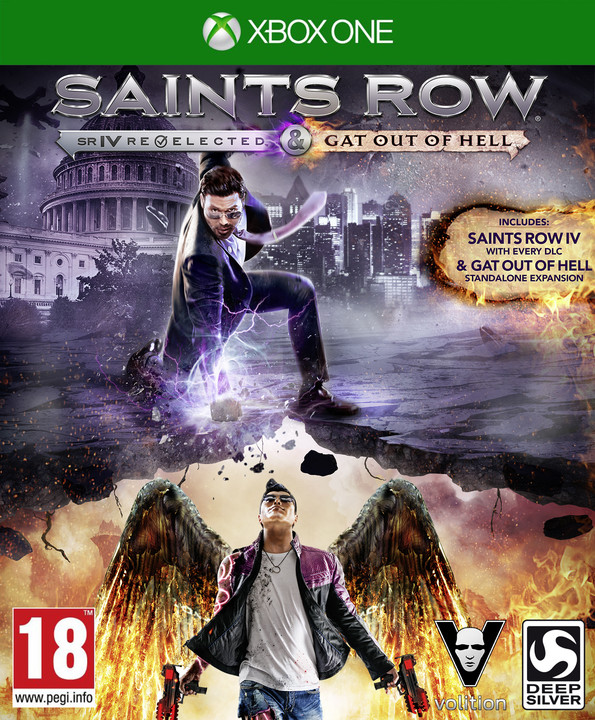 Saints Row IV: Re-Elected + Gat Out of Hell First Edition - XONE