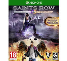Saints Row IV: Re-Elected + Gat Out of Hell First Edition - XONE - 4020628862114