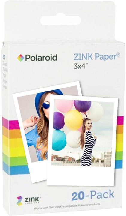 """Polaroid Zink instantní film 3x4"""", 20 fotografií"""