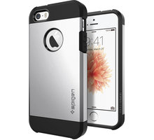 Spigen Tough Armor silver kryt pro iPhone SE/5s/5 - 041CS20251