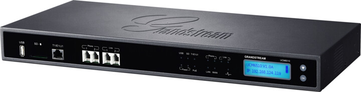 Grandstream UCM6510, IP pobočková ústředna