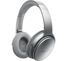 Bose QuietComfort 35 wireless, stříbrná - B 759944-0020