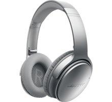 Bose QuietComfort 35 wireless, stříbrná - B 759944-0020