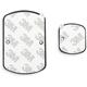 Scosche magicMOUNT Plate Kit výměnné a rozšiřující samolepky a magnety pro magnetické držáky, bílá