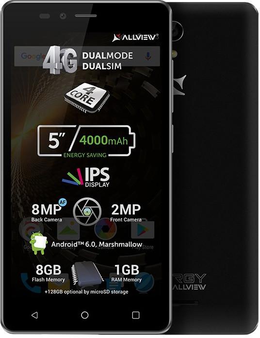 Allview P6 ENERGY LITE, černá