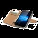 CELLY Wally pouzdro pro Microsoft Lumia 650, PU kůže, černá