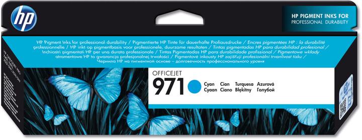 HP CN622AE, cyan, č. 971