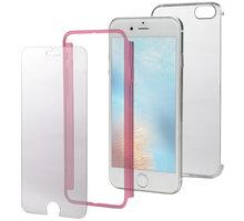 CELLY Body zadní kryt pro Apple iPhone 7, kompletní ochrana 3v1, růžové - BODY800PK