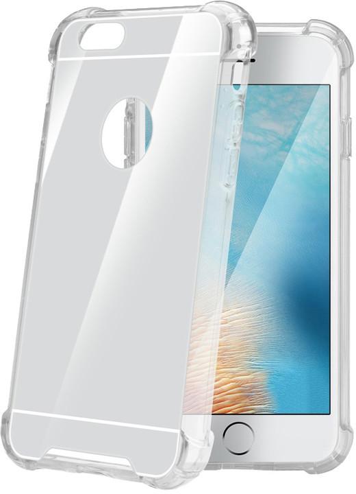 CELLY Armor zadní kryt pro Apple iPhone 7, se zrcadlovým efektem, stříbrné